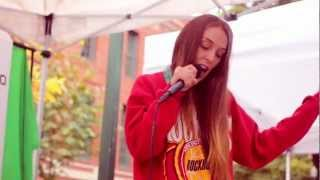 Lizzy Land Preforms at the Street Faire