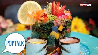 PopTalk: 'The Flower Cafe,' the only flower-themed resto in Baguio City