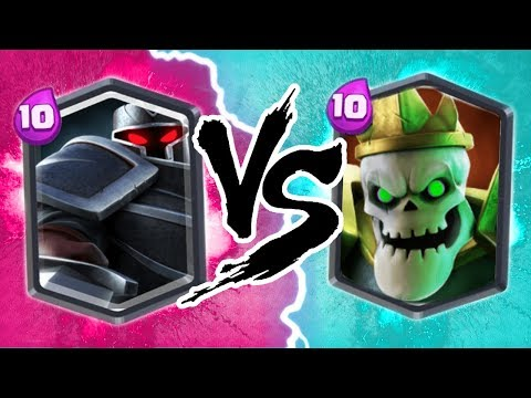NEW! BLACK KNIGHT vs SKULL KING!! CLASH ROYALE ALTERNATIVE!! - NEW CASTLE CRUSH LEGENDARY!