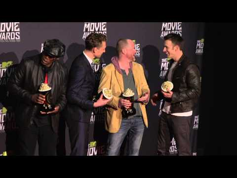 MTV Movie Awards 2013  Avengers Winners Circle in the press room