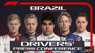2018 Brazilian Grand Prix: Press Conference Highlights