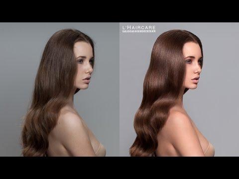 Hair Retouching - Time laspse