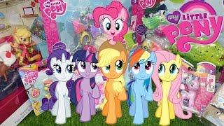 My little pony большой обзор на игрушки Мой маленький пони 12 игровых наборов пони 2016 год