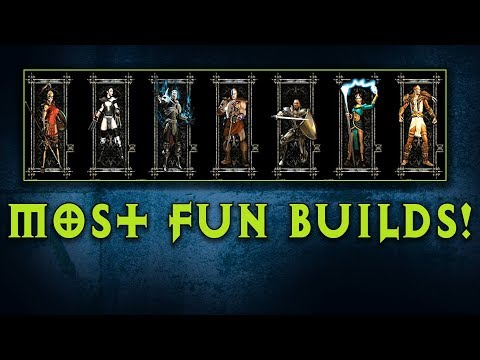 These Are The 12 Most Fun Builds In Diablo 2
