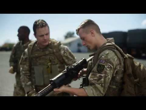 The making of British Army boots advert