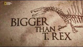 T-Rex'ten Bile Daha Büyük : Spinosaurus (Belgesel)