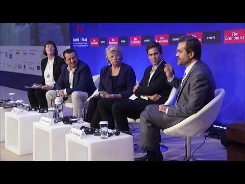 Dean Kostas Axarloglou at the Economist 22nd Roundtable with the Government of Greece