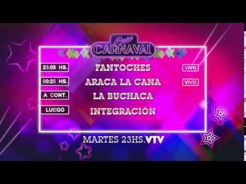 Agenda Carnaval Martes 26 Enero