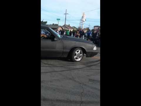 East Oakland side show