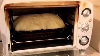 Выпечка хлеба из теста в электродуховке дома