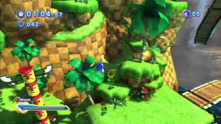 Sonic Generations 3D demo Quick Play HD