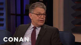 Al Franken Gets Frustrated Watching Senate Hearings - CONAN on TBS