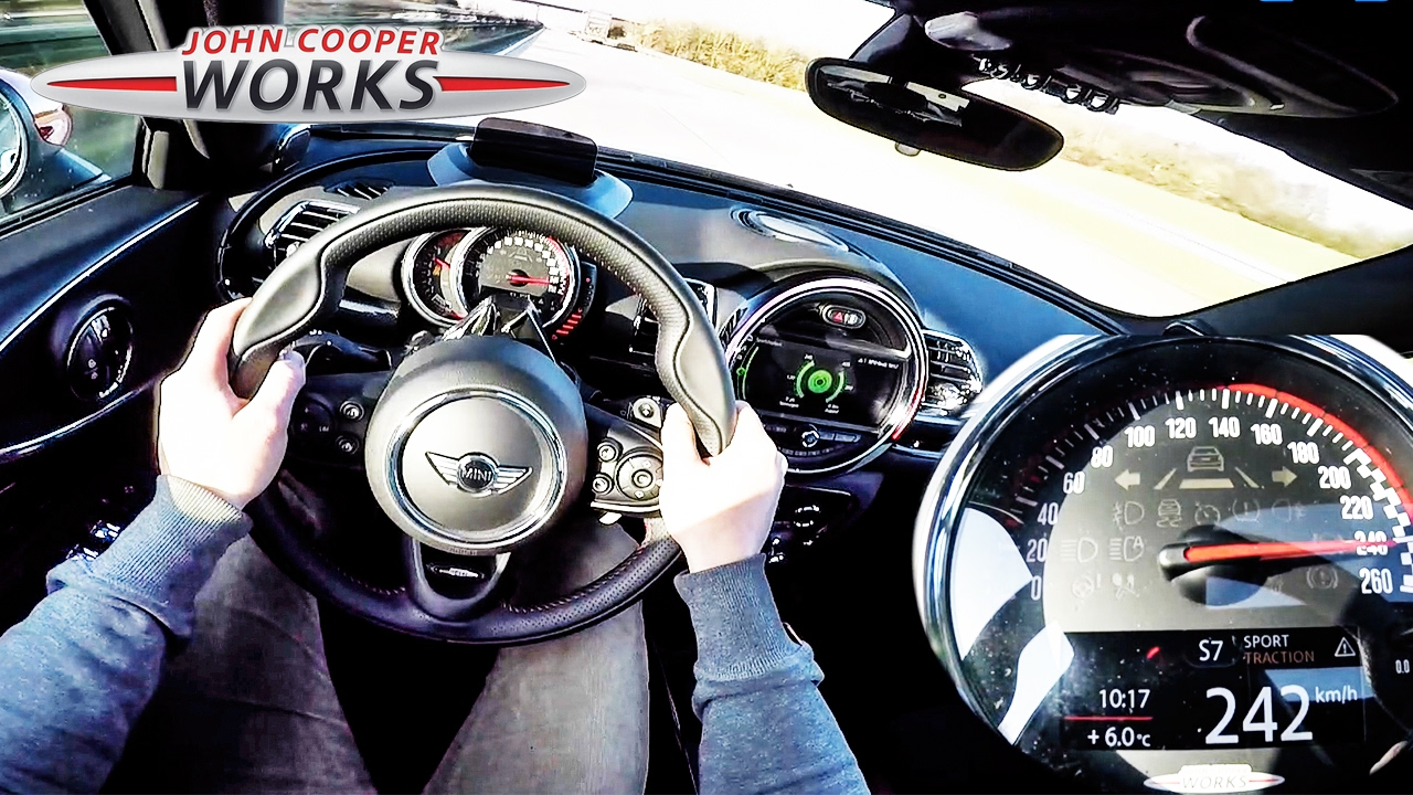 Mini Clubman Jcw 2017 Acceleration Top Speed Pov Test Drive By