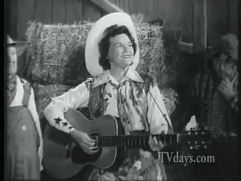 The Old American Barn Dance (1953 TV show w/Patsy Montana, Johnny Bond, Kenny Roberts)