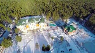 видео Зимний отдых на Увильдах на базе отдыха Лесная Сказка