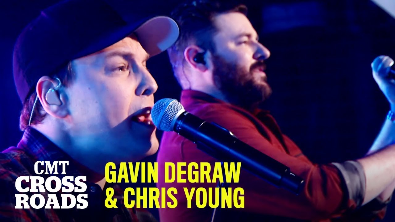 Gavin DeGraw & Chris Young Perform 'Maybe I'm Amazed'    CMT Crossroads