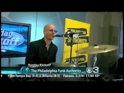 Philadelphia Funk Authority at CBS3 Studio - Fire