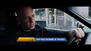 Fate Of The Furious Vin Diesel Rock Feud