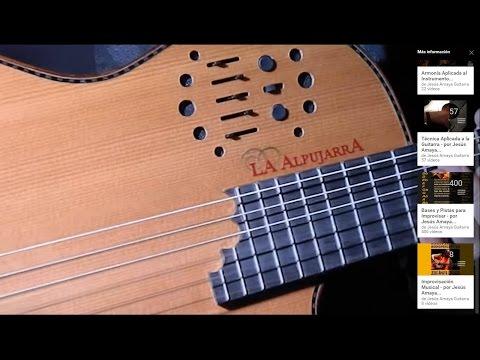 Guitarra Alpujarra Alpu Midi - Test por Jesús Amaya...