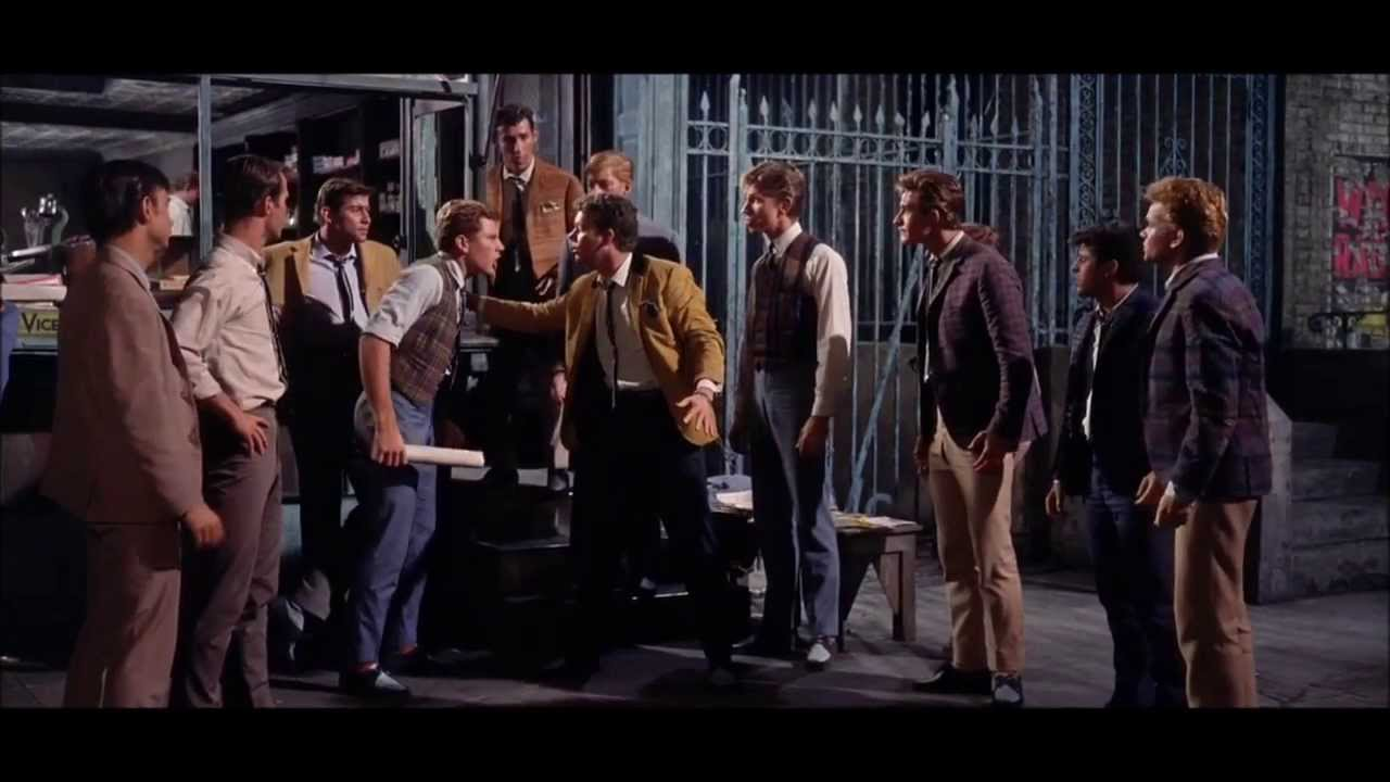 Image result for west side story sing fighting