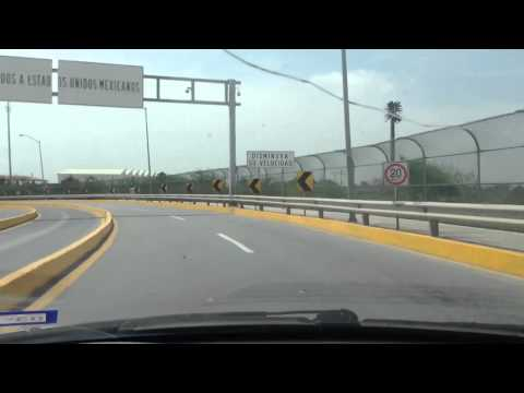 Crossing from Brownsville to Matamoros