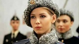 Cute Russian Army Girls