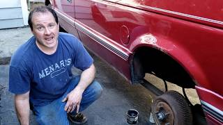 How to Fix an axle on a 1995 Plymouth Grand Voyager
