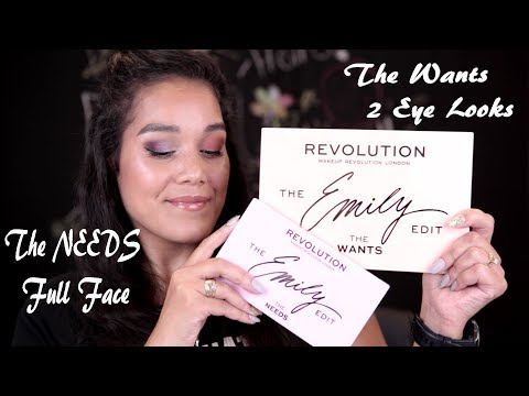 EMILY EDITS THE NEEDS AND WANTS PALETTES - MAKEUP REVOLUTION X EMILY NOEL thumbnail