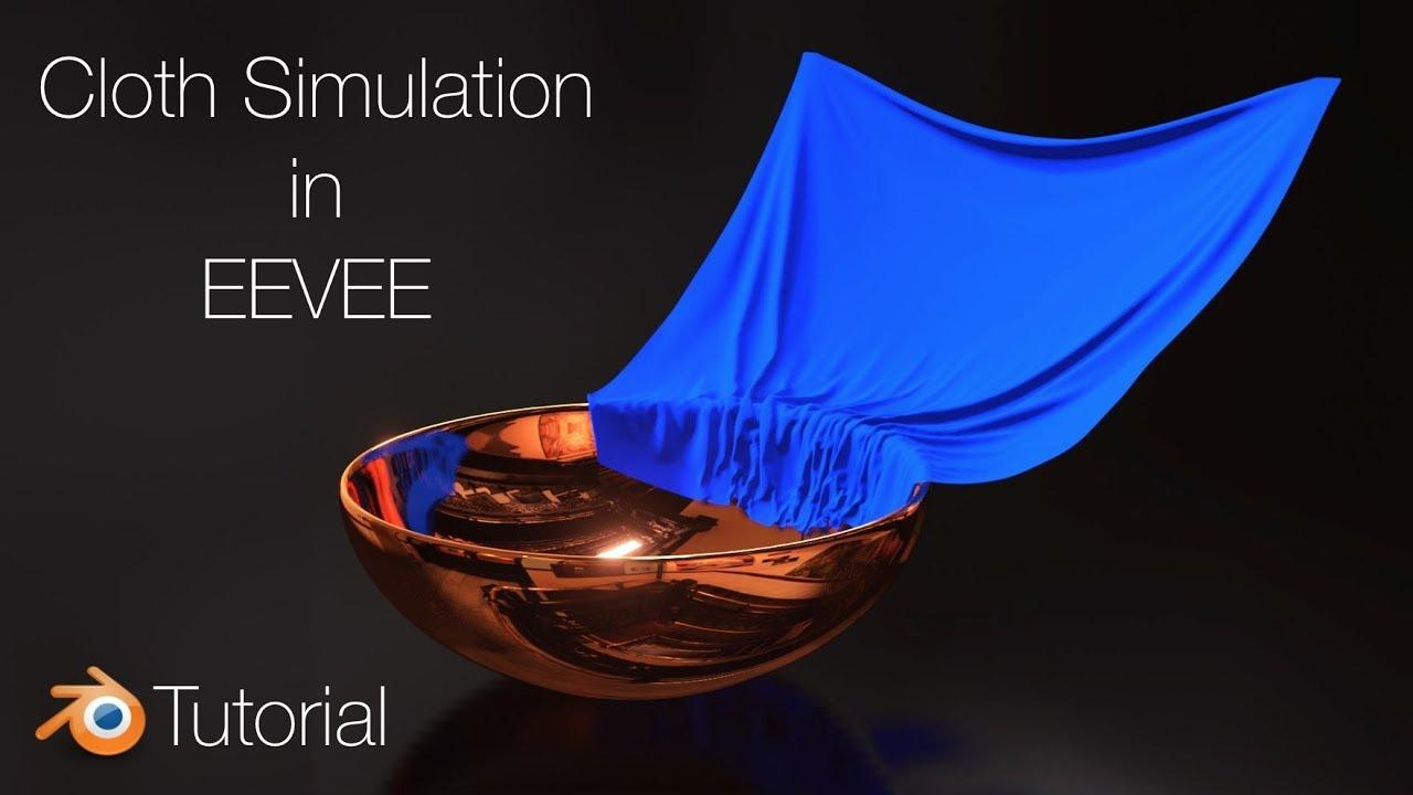 Blender 2 8 Tutorial: Cloth Animation in EEVEE – Metals 2016