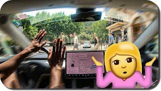 Tesla Autopilot Fährt Wie Meine Frau 💥🚗🤷🏻♀
