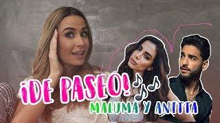De paseo con MALUMA y ANITTA Ft. Maluma y Anitta | Odalys Ramírez