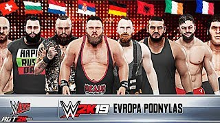 AGT - WWE 2K19 | BATTLE ROYAL МАТЧ ЕВРОПЕЙСКИХ РЕСТЛЕРОВ НА ВЫБЫВАНИЕ! (От Болгарии  и до Ирландии!)