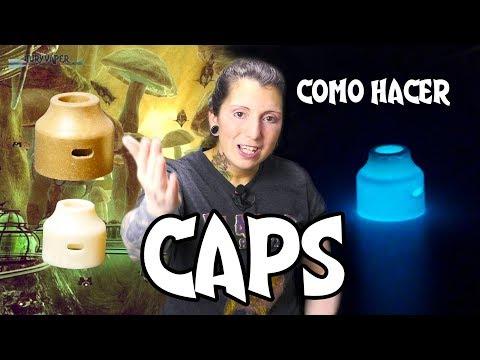 Como hacer CAPS de vapeo / Creamos CAPS para el WASP nano