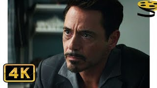 Тони Старк раскрывает личность Человека-Паука | Первый мститель: Противостояние | 4K ULTRA HD