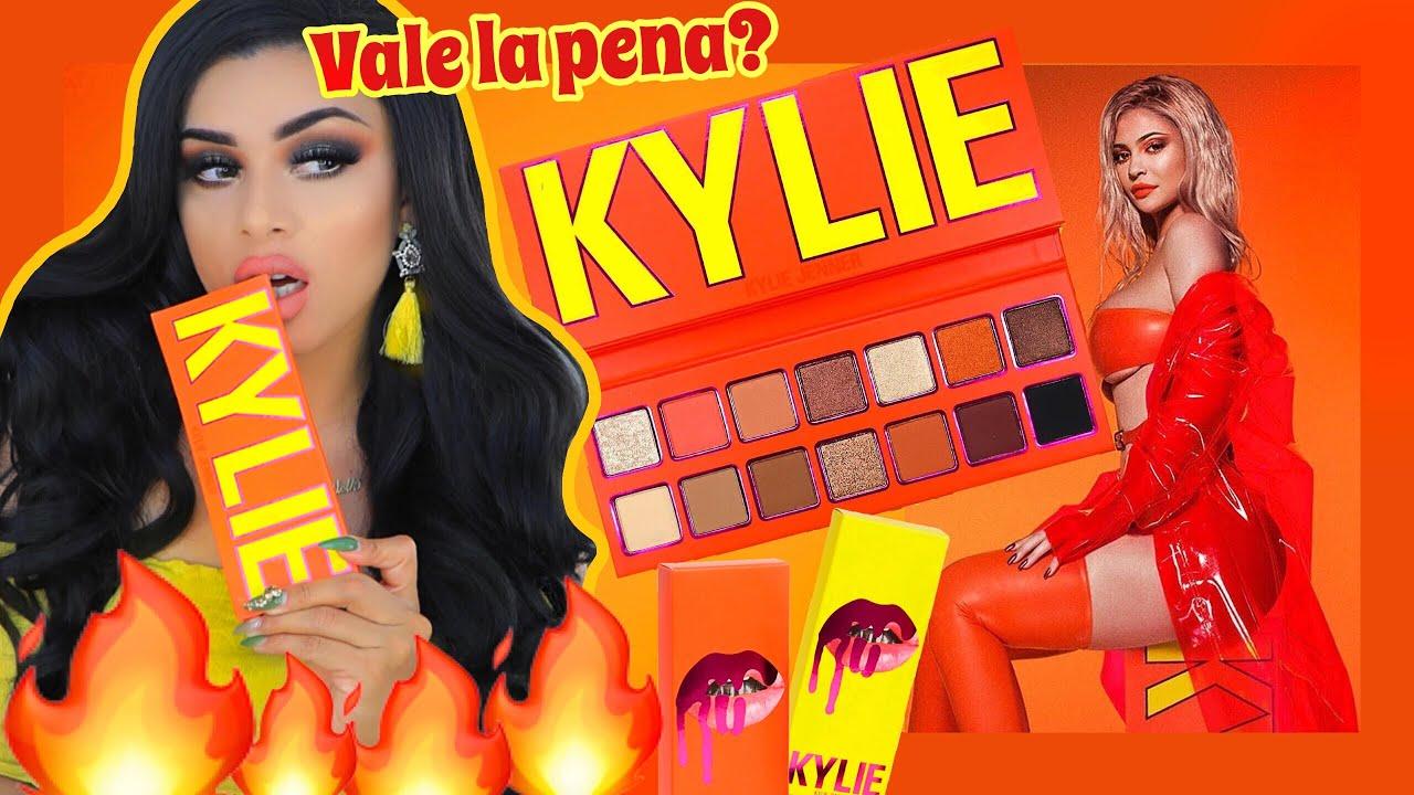 Kylie Jenner presenta su nueva colección de maquillaje