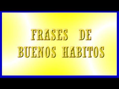 Frases De Buenos Habitos