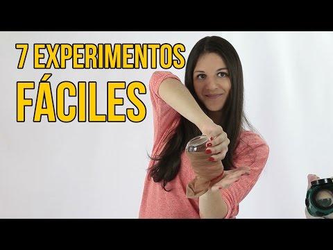7 EXPERIMENTOS SENCILLOS PARA SACAR BUENA NOTA (Recopilación)