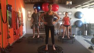 Full Body, Fat Shedding, Muscle Building, Cellercise Rebounding Workout