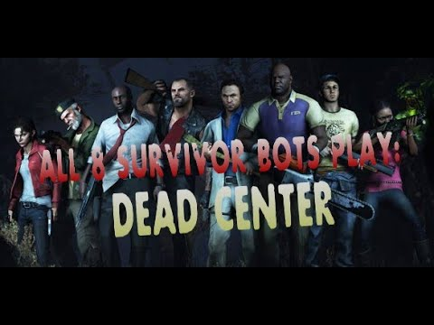 L4D2 All 8 survivor bots finishing Dead Center campaign (ALMOST ON THEIR OWN)