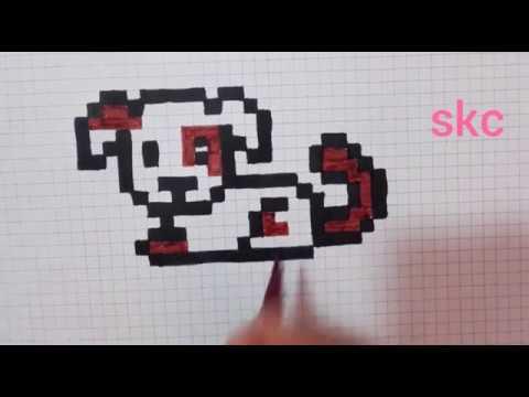 Comment Dessiner Un Petit Chien Pixel Art Minecraft