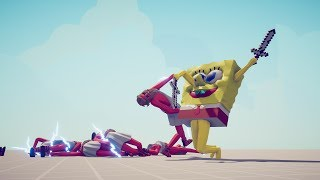 SPONGEBOB vs 10x EVERY UNIT - Totally Accurate Battle Simulator TABS