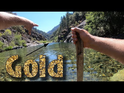 Hiking The River To Find Gold