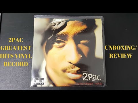 2pac Greatest Hits Vinyl Record Unboxing: 2pac Greatest Hits Vinyl Review