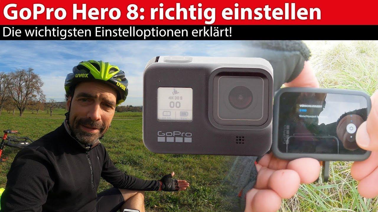 So holst Du das meiste aus deiner GoPro Hero8 Black heraus