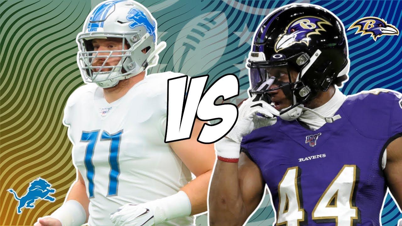 Ravens-Lions: Matchups to Watch, Advantage, Prediction