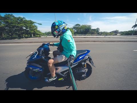YAMAHA AEROX 155 #motovlog Indonesia