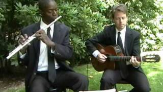 Canon in D (Flute & Guitar)