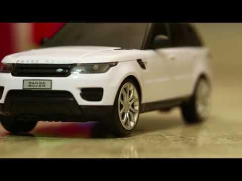 Range Rover 1 24 White Remote Control Car Youtube
