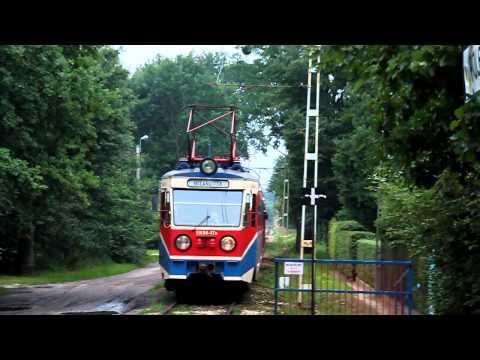 WKD tramway Warsaw in Milanówek [2011]