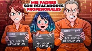Mis padres son estafadores profesionales | Historia animada sobre bienes raíces